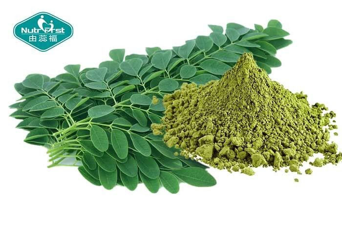 Healthy Natural Botanical Extracts , Moringa Leaf Extract Powder For Weight Loss
