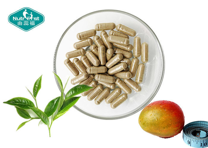 Transparent Natural Weight Loss Capsules Extract From African Mango And Green Tea